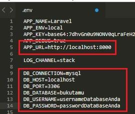 """"""".env"""" configuration"""